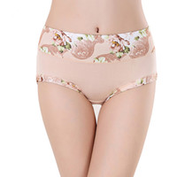 Wholesale woman lingeries xl - Underwear Women Panties Cotton Briefs Tanga Cute Thong Panty For Women Underwear Panties Calcinha Sexy Lingeries Cueca Plus Size