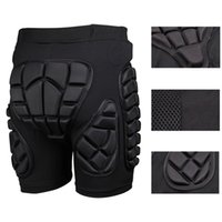 Wholesale gear body armor online - Motocycle Shorts Snowboad body Armor Racing MTB Skateboard Skiing Motorcross Trousers Sport Protective Gear Hip Pad for Outdoor