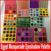 paleta de maquiagem de bronze venda por atacado-Novo Pro Eye Shadow Edition paleta highlighter 6 cores 9 cores 16 cores 12 cores maquiagem sombra de olho Blush Bronze paleta