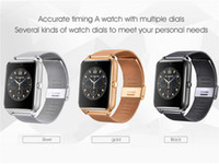 Wholesale pet smart watch for sale - Group buy Bluetooth Smart Watch Phone Z60 Stainless Steel Support SIM TF Card Camera Fitness Tracker GT08 GT09 DZ09 V8 Smartwatch for IOS Android