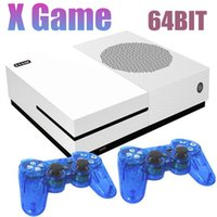 Wholesale av card player resale online - 2018 Hot Family Video Game Player GB Bit Can Store Games Dual Gamepads Xgame Support TF Card HDMI AV Out For FC