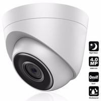ip67 cctv al por mayor-HD 4MP Hikvision DS-2CD1341-I Versión en inglés Cámara de red domo Torreta Cámara de red CCTV POE IP67 Mejora de soporte