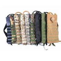 molle assault backpack venda por atacado-Caminhando o pacote de hidratação do esporte 3L Tactical Molle Mochila Bag Assault Mochila