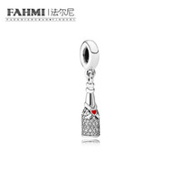Wholesale lampwork glass heart pendant for sale - Group buy FAHMI Sterling Silver Original CZ Authentic Temperament Fashion Glamour Retro Pendant Wedding Women Jewelry