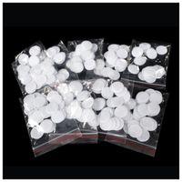 pamuklu filtre dermabrazyonu toptan satış-Promosyon başına 1000 adet lot elmas dermabrazyon cilt Soyma Mikrodermabrazyon pamuk filtreler güzellik makinesi parçaları karışık 11mm ve 18mm