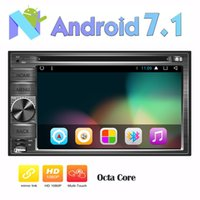 Wholesale android phone tv remote - Double din Android Car Radio Stereo in Dash 6.2'' GPS Car DVD Player Octa-core Navigation Bluetooth Autoradio Headunit Wifi Remote Control