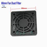 Wholesale computer dust filters - Wholesale- Gdstime 5 Pieces Black PC Fan Dust Filter Plastic Dustproof Computer Case Strainer 60mm x 60mm Free Shipping