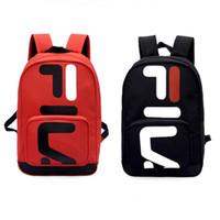 Wholesale travel backpack online - Hot Brand designer Backpack Fashion Casual Unisex Travel Bag handbags Couple Backpack Student Bag Computer Bag free shopping