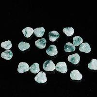 Wholesale natural jadeite pendant - Fashion Jewelry Pendants TBP478 Jadeite Mile FO small amulets Natural Jadestone Smile Buddha Charms 10pcs lot