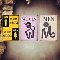 Avertissement de femmes au travail Métal Tin Signe Affiche Plaque Murale