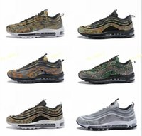 Wholesale sneaker shoes uk online - 97 Country Camo Japan Italy UK Army Green Running Shoes Men s Camouflage Ultra Bullet M Premium Zoom Trainers Sneakers