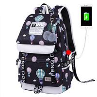 zikzaklı okul çantası toptan satış-Pembe sugao tasarımcı sırt çantası büyük capactiy moda sırt çantaları tuval okul bookbag omuz çantaları 12 renk seyahat ve okul için seçin