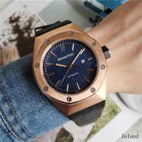 Wholesale aqua blue top - Luxury AAA Top Quality Mens Christmas Gift Aqua Terra Blue Dial Steel Men's 231.10.39.21.03.002 Automatic Men's Watches Wrist Watches