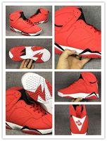 ayakkabı teslimatı toptan satış-Nike Air Jordan Retro Shoes 2018 Sıcak Satış 7 VII 7 s kırmızı Basketbol Ayakkabı Erkekler Hava Sneakers Ayakkabı Airs VII Spor Ayakkabı Ücretsiz Teslimat 8-13