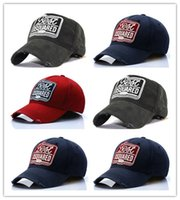 Wholesale season europe online - New Arrival Four seasons DSQCIOND2 hot style and a baseball cap cotton sunshade cap Europe and the United States hit cap