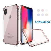 Wholesale iphone clear silicon for sale - Classic Anti Shock TPU Case For iPhone X iPhone Plus Clear Silicon Shockproof Cover For iPhone Plus Cases Accessories