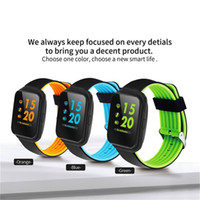 Wholesale home blood pressure monitor - Z40 Bluetooth Smart Watch Blood Pressure Monitor Heart Rate Smartwatch men Pedometer Call Message Reminder Wearable devices for IOS Android