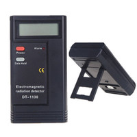 detector de radiação digital venda por atacado-Detector de Radiação Eletromagnética Portátil DT-1130 Monitor de Radiação Eletrônica Digital EMF Medidor Dosímetro Tester Medidor CE Certificated