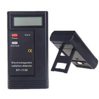 elektromagnetische strahlungsdosimeter großhandel-DT-1130 Tragbarer Detektor für elektromagnetische Strahlung Elektronischer Strahlungsmonitor Digitales EMF-Messgerät Dosimeter Tester Messgerät CE-zertifiziert