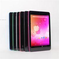 16gb allwin tablet toptan satış-Glavey satış! 7inç Android 5.1 Allwinner A64 Dört Çekirdek 1GB / 16GB 1280x800 IPS Çift Kamera Bluetooth WIFI Android tablet pc