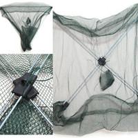 rede de gaiolas de peixes venda por atacado-Peixe automático Escudo Peixe Saco De Rede De Pesca Lança Jogging Redes Ferramenta Cítara Nylon Gaiola De Pesca Portátil 2 5 h dd