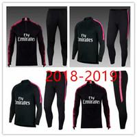 Wholesale express s - Top quality 2017 2018 1019 NEYMAR JR DI MARIA CAVANI VERRATT training Jerseys kit jacket track suit Express mail free..