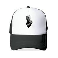 Superhero Black Panther Baseball Cap X-men Civil War Movie Cosplay Women  Cap Cosplay Cartoon Hat 350 Male Flexfit YY445 08efb7074636