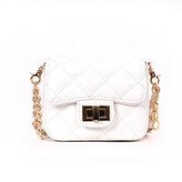 mini bolso de color blanco al por mayor-BLSX Mujeres pequeña cadena Messenger Bag Diseñador de bolsos de alta calidad mini color rojo y blanco Hombro Crossbody Bags