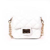 ingrosso borsa di colore bianco mini-BLSX Women borsa a tracolla piccola catena Designer Borse Borse a tracolla a spalla da donna di colore rosso e bianco di alta qualità