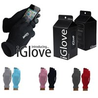 Wholesale i glove for sale - Group buy iGlove capacitive touch screen gloves winter warm unisex multi purpose i glove for iphone xipad smart phone Christmas gift