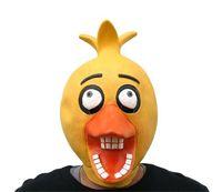 máscaras de rosto de borracha venda por atacado-Traje de Halloween Masquerade Cinco Noites Em Freddys Máscara Criativa Partido Cosplay Mascara De Borracha Rosto Cheio Máscaras Engraçadas 65gjjjj