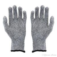 guantes de nivel al por mayor-Guantes de cocina resistentes al corte Guantes de cocina con nivel de grado 5 Protección de manos Guantes de trabajo ligeros Seguridad