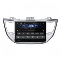 control de radio chino al por mayor-Reproductor de DVD del coche para HYUNDAI IX35 2015 Octa-core 10.1inch Andriod 8.0 Octa core 4GB RAM con GPS, control del volante, Bluetooth, radio