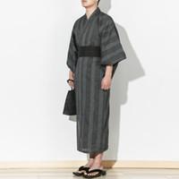 trajes chineses antigos mulheres venda por atacado-2018 casais de verão conjuntos de pijama de algodão yukata mulheres japonesas quimono robe set antigo chinês pijama traje