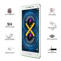 huawei 3c ekran koruyucusu onuruna toptan satış-Huawei Onur için 3C / G630 3 Oynamak Sertlik 9 H Temperli Cam 2.5D Ekran Koruyucu için Huawei Onur 4C 4A / Y6 5X