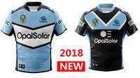 Wholesale sharks shirt - Hot sales 2018 CRONULLA SHARKS rugby Jerseys home away ALTERNATE NRL National Rugby League nrl Jersey Australia Cronulla Sharks shirt s-3xl