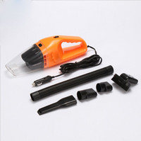 Wholesale mini hand held vacuum cleaners resale online - 2018 Auto Accessories Portable M W V mini Car Vacuum Cleaner Handheld Mini Super Suction Wet And Dry Dual Use Vaccum Cleaner