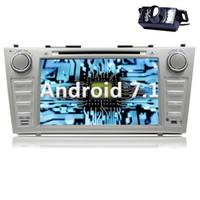 receptor de televisión chino al por mayor-Android 7.1 Car Radio CD Car Stereo GPS coche DVD de navegación para Toyota Camry 2007- 2012 en Dash HeadUnit Receptor
