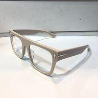 retro style eyeglasses al por mayor-Lujoso Diseñador de Las Mujeres Gafas Plateado Retro Marco Cuadrado 5634 Anteojos Para Hombre Simple Estilo Popular de Calidad Superior Con Paquete Original