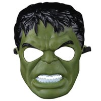 Wholesale Costumes D Halloween - H&D Incredible Hulk Green Giant Mask for Party Halloween Cosplay Costume Accessory Toy Gift Boy Kids