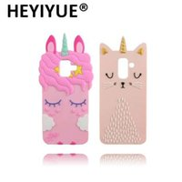 Wholesale new style cell cases online – custom For Samsung Galaxy A6 Case New Unicorn Cat Pig Style Silicone Cell Phone Cover Case For Samsung A6 Plus