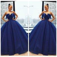 vestidos de noite macios venda por atacado-2018 Querida vestido de Baile Vestidos de Baile Fascinante Sem Mangas Fofo vestido de Baile Vestido de Baile Glamouroso Vestido de Festa Vintage Desgaste da Noite Sexy