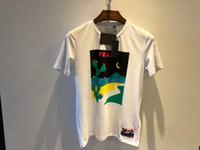 Wholesale designer shirts wholesale - 2018 New fashion mensl beautiful animation printing t shirt luxury ~ tops men designer comfortably and breathable t shirt