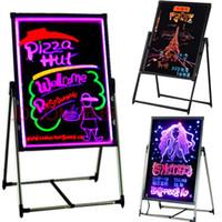 compras fáciles al por mayor-Tienda tienda promoción tablero de la muestra fácil DIY Mensaje pizarra niños estudio tienda promoción hotel anuncio tienda iluminación