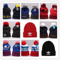 Wholesale best quality beanies resale online - New AD Islanders Hockey Beanies Team Hat Winter Caps Popular Beanie Caps Skull Caps Best Quality Sports Cap