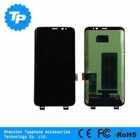 оригинальные телефоны фарфора оптовых-Оригинальный новый мобильный телефон запчасти Китай завод оптовая цена хорошая qulity ЖК-дисплей замена дигитайзер для Sumsang Galaxy S8