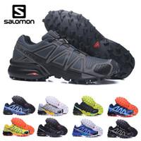 Wholesale lowest running shoes sale resale online - Cheap sale Salomon Speed Cross CS IV Men Running Shoes Outdoor Walking Jogging Sneakers Athletic Shoes SpeedCross sports Shoes eur