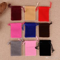 Wholesale couch bags for sale - Group buy Mini Cashmere Storage Bundle Pocket Couch Fashion Women Portable Jewellery Velvet Packing Pouch Bags Practical Organizer rh5 ZZ