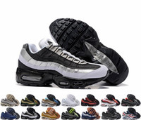 promo code c60a5 3172c 20ème Anniversaire MID Shoe 95s Sneakerboot 95 noir blanc Army Bottes Hommes  Automne Hiver air coussin cheville Sealed-zip Chaussures de course 36-45  Nike ...