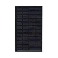 Wholesale 12v monocrystalline solar panel resale online - 5Pcs W V PET EVA Laminated Solar Cell Monocrystalline Solar Cell Panel Size mm mm for DIY and Solar Project